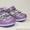 Туфли фиолетовые с серебром #598287