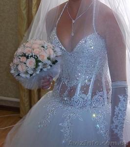Весільна сукня ,білого кольору - Изображение #1, Объявление #877160