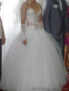 Весільна сукня ,білого кольору - Изображение #2, Объявление #877160