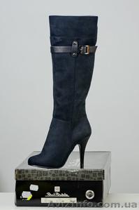 Сток обуви. Сапоги женские. Сделано в Италии. Обувь оптом. - Изображение #2, Объявление #948955