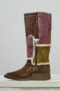 Сток обуви. Сапоги женские. Сделано в Италии. Обувь оптом. - Изображение #1, Объявление #948955