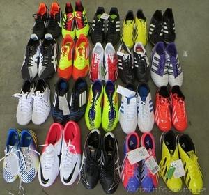 Новые бутсы. Футбольный микс Люкс. Оригинальные бренды: Adidas, Nike, Asics. - Изображение #1, Объявление #1082234
