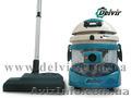 DELVIR:пылесос с аквафильтром, системой гидроциклон и двумя сепараторами