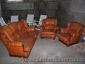 диваны и два кресла  настаящая кожа  нужна немнога реставрировать  4500 гр  063)