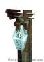 Торшер деревянный с керамическим алафоном