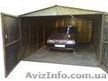 металевий гараж швидкозбірний різних розмірів - Изображение #2, Объявление #1029387