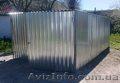 металевий гараж швидкозбірний різних розмірів - Изображение #3, Объявление #1029387