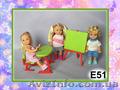 Коляски,  велосипеды,  а также разные аксессуары для кукол Еви и Келли