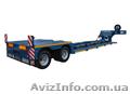 Низкорамные полуприцепы (тралы) для перевозки негабаритных грузов и сельхозтехни