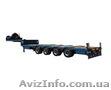 Производство под заказ низкорамных тралов для перевозки негабаритных грузов